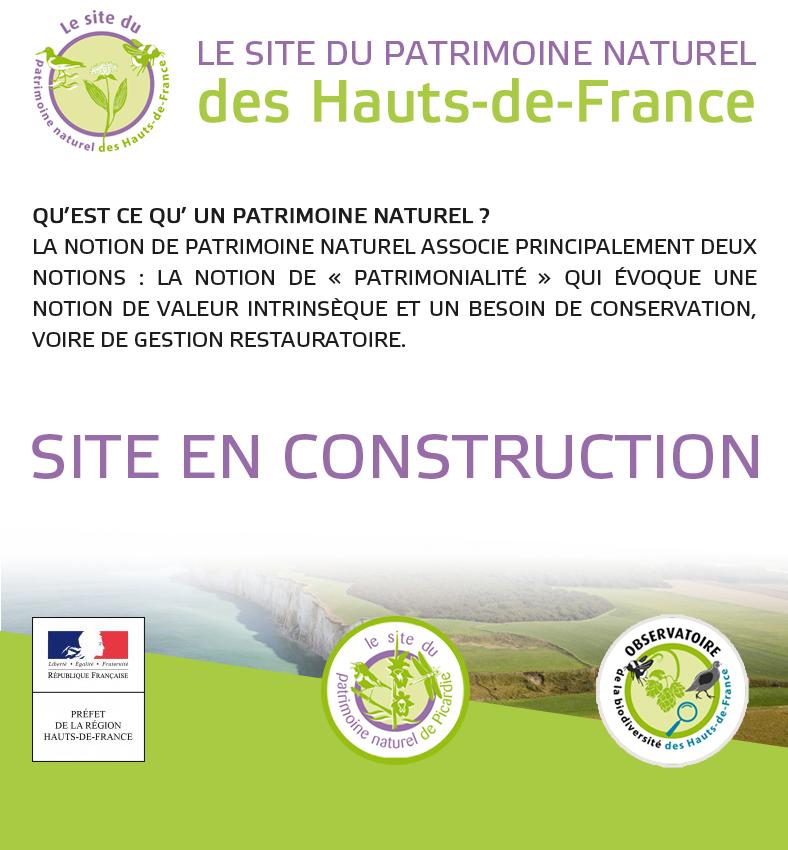 Le site du Patrimoine naturel des Hauts-de-France